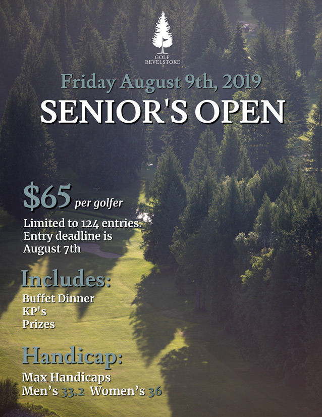 Senior's Open
