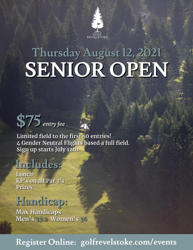 2021 Senior Open